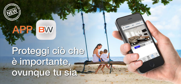 Bentel Security presenta l'APP BW