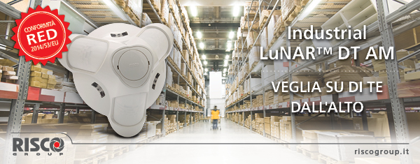 RISCO Industrial LuNAR™ DT banner