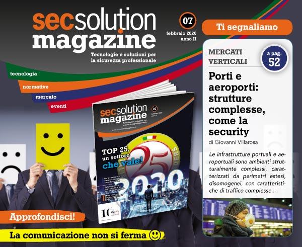 Leggi Secsolution Magazine